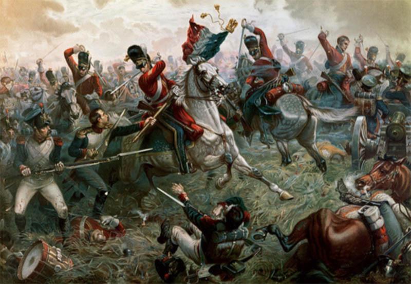 Battle Of Waterloo by William Holmes Sullivan fineartamerica.com
