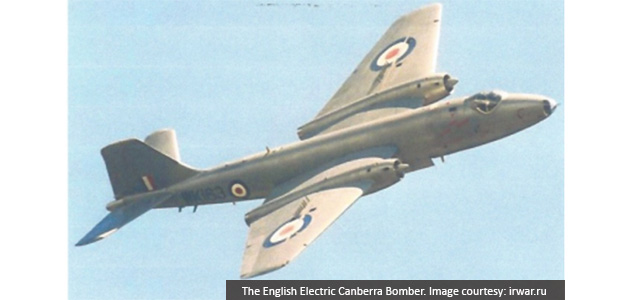 The English Electric Canberra Bomber and its part in the Malayan Emergency, 1950-60