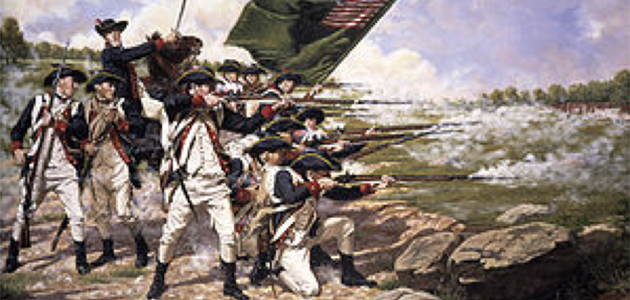 The Delaware Regiment at the Battle of Long Island.