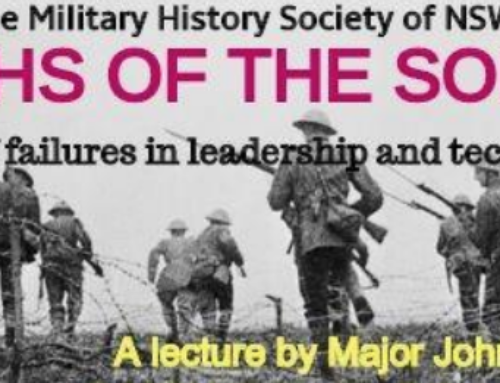 Myths of the Somme By Major John Hitchen