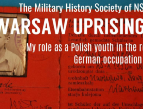 WARSAW UPRISING 1944:  A conversation with Les Gade