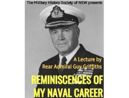 REMINISCENCES OF MY NAVAL CAREER: A lecture with Rear Admiral Guy Griffiths