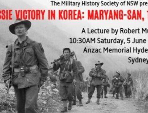 Aussie Victory in Korea: Maryang-san, 1951